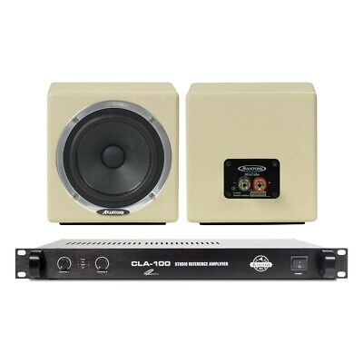 Avantone MixCubes Passive Mini Monitors Creme W/CLA-100 Studio Power Amp • 535.04£