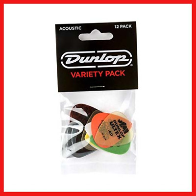 JIM DUNLOP PVP112 Acoustic Guitar Pick Variety Pack • 7.27£