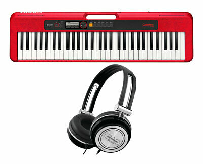 Casio Casiotone CT-S200RD (Red) + FREE Headphones • 96.28£