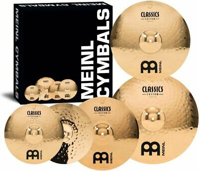 Meinl Classics Custom Cymbal Box Set W/Free 18  Crash • 365.52£