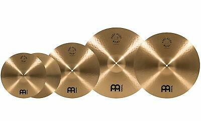 Meinl Pure Alloy Cymbal Set 14H/16C/20R+Free 18 Crash, Ching Ring and Cymbal ...