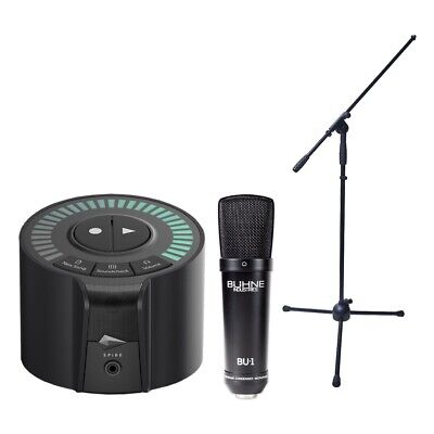 IZotope Spire Studio Wireless Recorder Bundle With Buhne Industries Mic & Stand • 229.88£