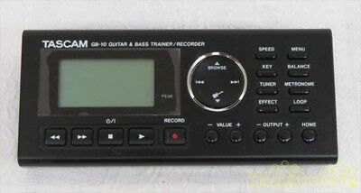 GB-10 Linear PCM Recorder TASCAM Guitar Bass Trainer Used Good Condition Japan • 133.76£
