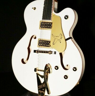 Gretsch G6136T-WHT White Falcon Guitar Players Edition Mint W/Hardshell 2018 • 2,156.82£