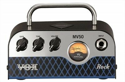 MV50 Guitar Amp Head Rock Type VOX New Vacuum Tube Nutube Loaded F/S From Japan • 146.40£