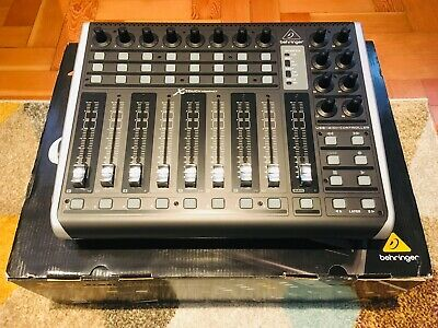 Behringer X-touch Compact Midi Controller Motorised Faders Daw Control Mint • 200£