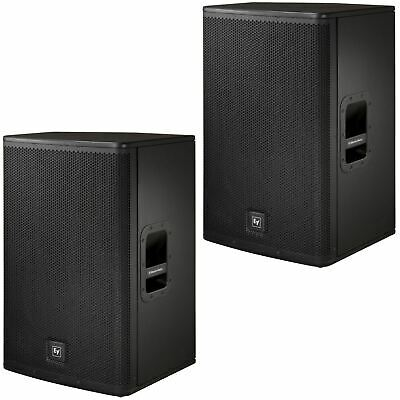 2 X Electro-Voice EV Live X ELX115P 1000W Active Powered PA Speakers • 1,049£
