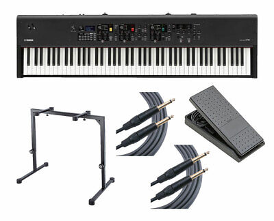 Yamaha CP88 88-Key Stage Piano W/ FC7 Pedal + K&M Keyboard Stand + Mogami Cables • 1,913.06£
