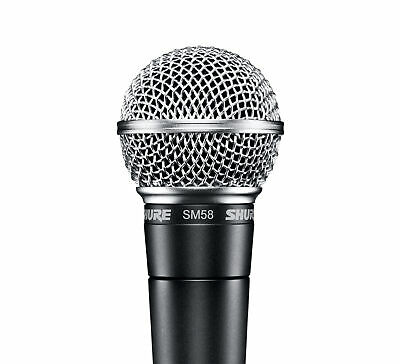 Shure SM58-LC Dynamic Vocal Microphone With Stand Adapter And Carrying Case • 71.62£