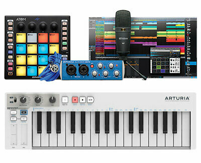 PreSonus ATOM Producer Lab + Arturia Keystep 32-Key Slim Keyboard Controller • 252.87£