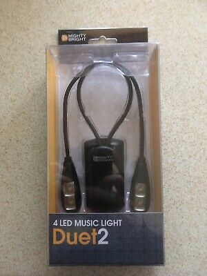 Mighty Bright Duet2 Music/reading Light (new) • 15£