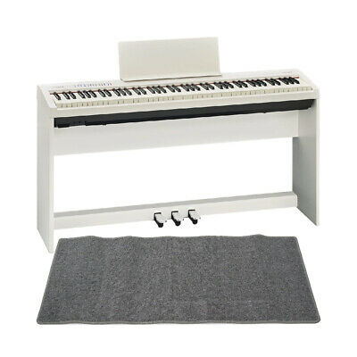 Mint Roland Fp 30 Wh Electronic Piano Genuine Stand Pedal Unit Mat Gray With Set • 1,206.36£