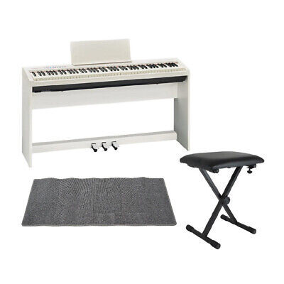 Mint Roland Fp 30 Wh Electronic Piano Genuine Stand Pedal Unit X Type Chair Mat • 1,217.94£