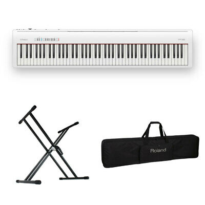 Roland Fp 30 Wh Electronic Piano X-Type Stand Set With Carrying Case • 1,083.90£