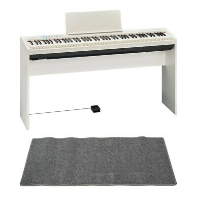 Mint Roland Fp 30 Wh Electronic Piano Genuine Stand Mat Gray With Set • 1,119.20£