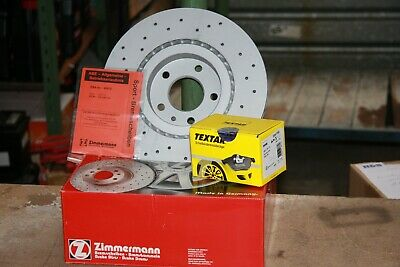 Sport Brake Discs And Textar-Bremsbeläge Vauxhall Adam, Corsa E Set For Front • 154.46£