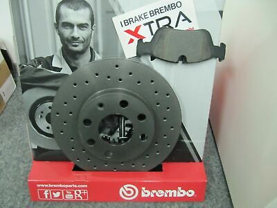 Brembo Sport Brake Discs And Pads Vauxhall Adam Corsa E Front 16   • 185.62£