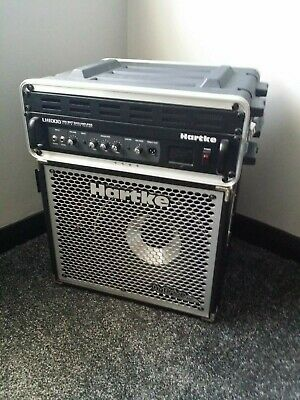 Hartke Bass Amp LH1000 1000w Head And HX112 1x12 Cab - Excellent Condition • 400£