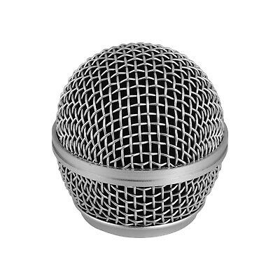 Microphone Grille Replacement Ball Head Compatible With Shure SM58/SM58S O1D6 • 6.14£