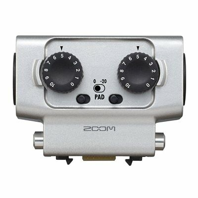 Zoom EXTERNAL XLR TRS INPUT EXH-6 for H5 H6 Q8 U-44 F4 New in Box