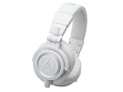 Audio-technica Professional Monitor Headphones ATH-M50x White New • 154.90£