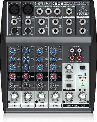 Behringer Xenyx 802 Analog Mixer New In Box • 121.20£