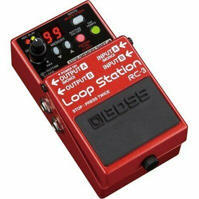 BOSS RC-3 Loop Station Guitar Effects Pedal New In Box • 173.89£