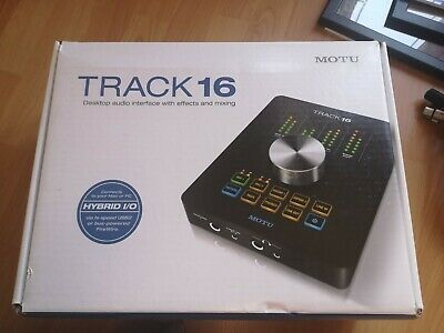MOTU Track16 Desktop Audio Interface 16x14 I/O Firewire/USB 2.0  • 300£
