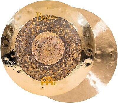 Meinl Byzance Extra Dry Dual Hi-Hat Cymbal Pair 15 Inch • 411.16£