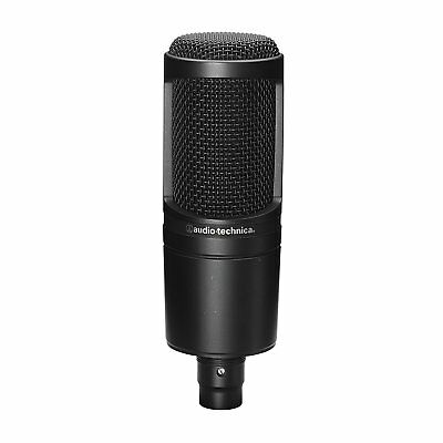 Audio-Technica Condenser Microphone AT2020 Black From Japan New • 103.24£