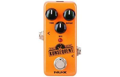 Effetto Pedale Nux Ndd-2 Konsequent Mini Core Delay