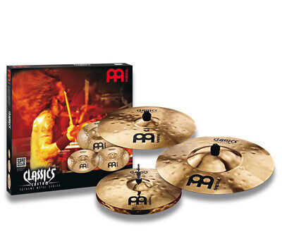 Meinl Classics Custom Extreme Metal Cymbal Set, 14H/18C/20R - Video Demo • 365.52£