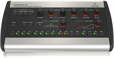 BEHRINGER Powerplay P16-M Digital Personal Mixer 16 Channel CUE System • 365.32£