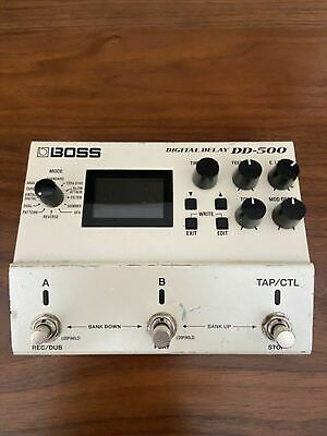 Used DD-500 BOSS Delay Guitar Effect Pedal Operation Confirmed From Japan • 251.49£