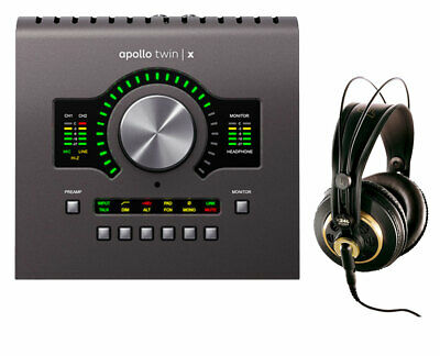 Universal Audio Apollo Twin X Duo Audio Interface + AKG K 240 Studio Headphones • 673.66£