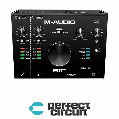 M-Audio Air 192 | 8 USB Audio Interface PRO AUDIO - NEW - PERFECT CIRCUIT • 164.16£