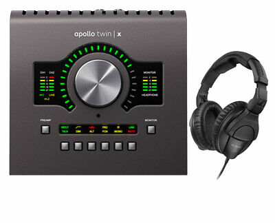 Universal Audio Apollo Twin X Duo Audio Interface + Sennheiser HD 280 PRO • 673.66£