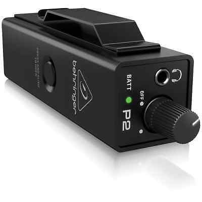 Behringer Powerplay P2 – Personal In-Ear Monitor Amplifier • 39.99£