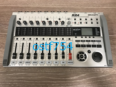 ZOOM R24 Digita Multi Track Recorder 24 Track Interface Controller 8 Channel • 327.62£