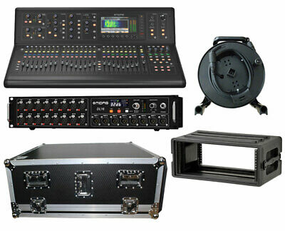 Midas M32 Live Digital Studio Mixer + DL16 Stage Box + 150' Cat5 Cable + Cases • 5,088.67£