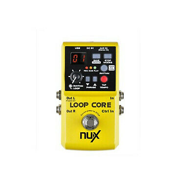 Nu-X NUX Loop Core Looper FX Pedal With 4GB Of Memory • 120.36£