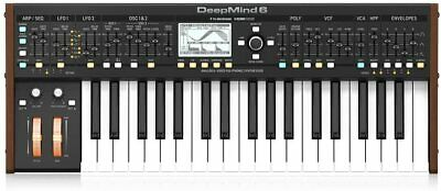 Behringer DeepMind 6 Analog Polyphonic Synthesizer 6 Voice 37 Key Desktop • 931.44£