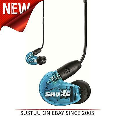 Shure SE215 Sound Isolating Earphones With Universal 3.5mm Remote & Mic - Blue • 101.82£