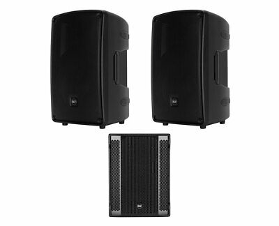 2x RCF HD 32-A MK4 + RCF SUB 8003-AS II Active Speaker / Subwoofer 2.1 System • 3,064.24£