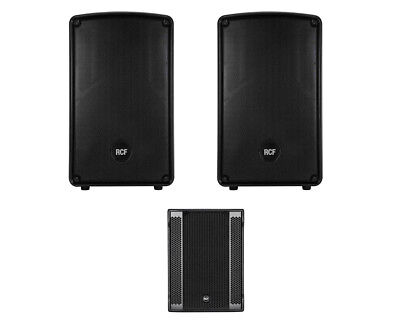2x RCF HD 12-A MK4 HD12A +RCF SUB 8003-AS II Active Speaker /Subwoofer 2.1 • 2,450.94£
