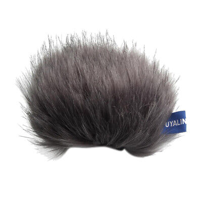 Outdoor Mic Furry Cover Windscreen Windshield For Tascam DR-44WL MicrophoneS • 4.35£