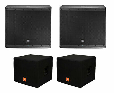 2x JBL EON618S Active Subwoofer Powered Sub Speaker + Covers • 1,322.83£