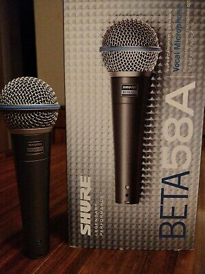 Sure Beta 58a Microphone • 105£