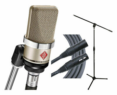 Neumann TLM102 - Nickel Microphone + Ultimate MC-40B Pro + Mogami Gold Cable • 580.04£