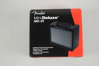 Fender MD-20 Mini Deluxe Guitar Amplifier. Tested Works! • 34.49£